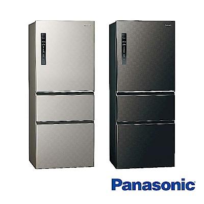 [無卡分期-12期]國際牌 500L 1級變頻3門電冰箱 NR-C500HV