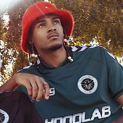 KANGOL鐘型帽-紅色