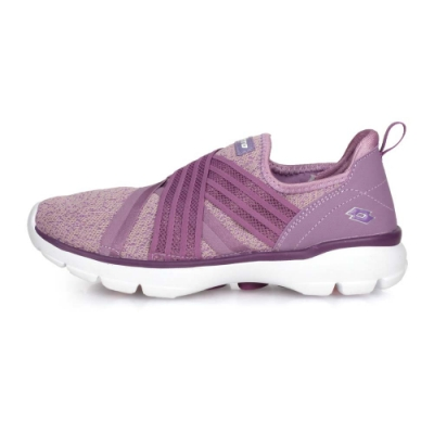 LOTTO 女 美型健走鞋 芋紫