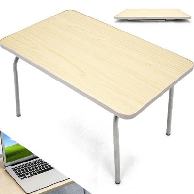 包邊輕便利和室桌 (萬用戶外桌露營桌/床上桌野餐桌小書桌子/簡易摺疊桌折疊桌/便攜式摺合桌折合桌)