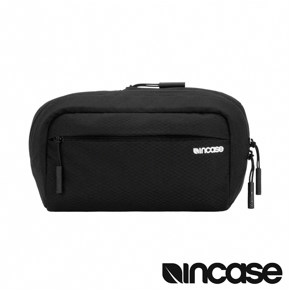 Incase Nylon Hipsack 限量款腰包(格紋耐磨) - 晶鑽黑