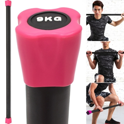 BODY BAR有氧健身9KG體操棒 (長桿120CM跳操平衡棒/重量棒形體棒韻律棒/塑形棍塑身棍9公斤)