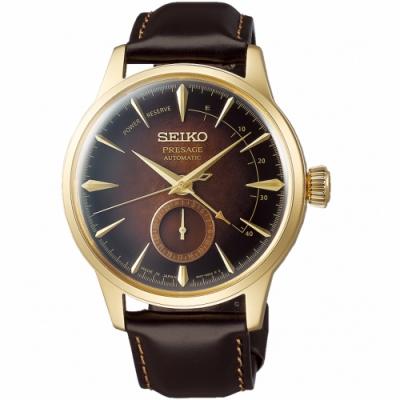 SEIKO精工Presage調酒師動力儲存顯示機械錶(SSA392J1)