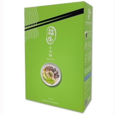 筷牛醇湯系列-精選牛腱心牛肉麵 580g/盒