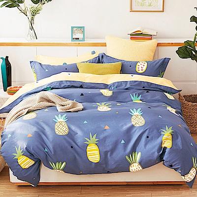 Ania Casa水木清華 雙人三件式 100%精梳棉 台灣製 床包枕套純棉三件組