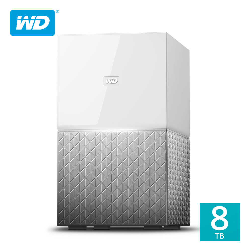 WD My Cloud Home Duo 8TB(4TBx2)3.5吋雲端儲存系統