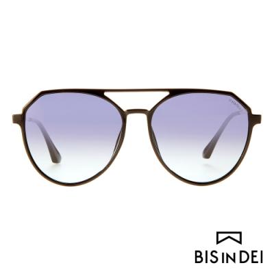 BIS IN DEI 雙槓飛行框太陽眼鏡-紫