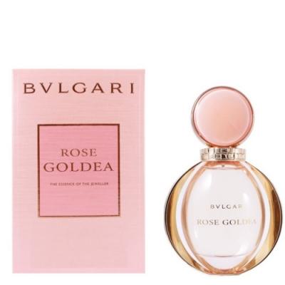 【BVLGARI 寶格麗】 ROSE GOLDEA玫瑰金漾女性淡香精 90ml