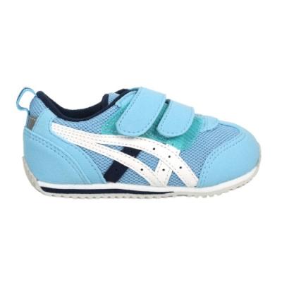 ASICS IDAHO BABY 3 男女小童運動鞋-魔鬼氈 反光 亞瑟士 TUB165-402 水藍白丈青