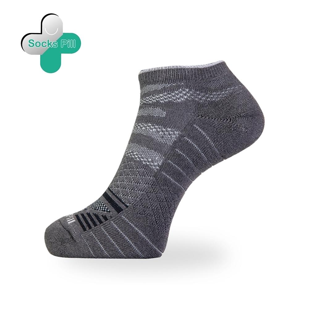 SocksPill機能除臭抗菌足弓運動短襪 (XL碼28-32cm) 除臭就找膠囊襪 抑菌纖維99% 除臭襪