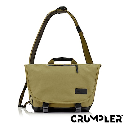 Crumpler 小野人 CHRONICLER 紀錄者側背包(M) 芥末黃