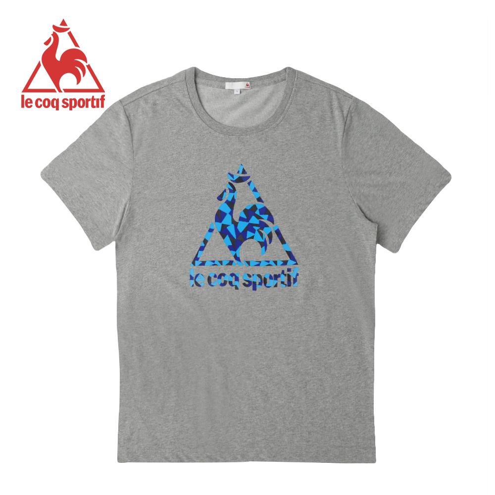 le coq sportif法國公雞牌短袖T恤 男女-灰