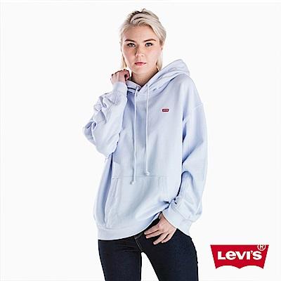 Levis 女款 帽T 小Logo徽章