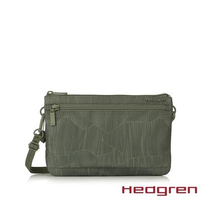 Hedgren INNER CITY 三格層收納 側背包 竹葉綠