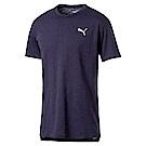 PUMA-男性訓練系列Energy短袖T恤-重深藍(麻花)-歐規
