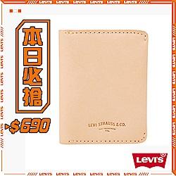 Levis 票卡夾 LOGO壓印 精美鐵盒