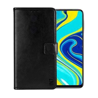 IN7 瘋馬紋 紅米Note9 Pro (6.67吋) 錢包式 磁扣側掀PU皮套 吊飾孔 手機皮套保護殼