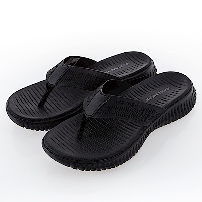 SKECHERS 男 休閒系列 涼拖鞋 ELITE FLEX - 51721BBK