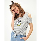 CACO-黛西款條紋上衣-女【TDI075】
