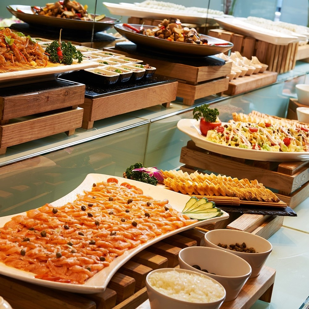 (台北)慶泰大飯店 金穗坊西餐廳半自助式雙人券2張