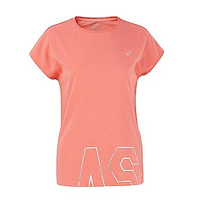 ASICS 女棉感短袖上衣(粉) 2032A891-700
