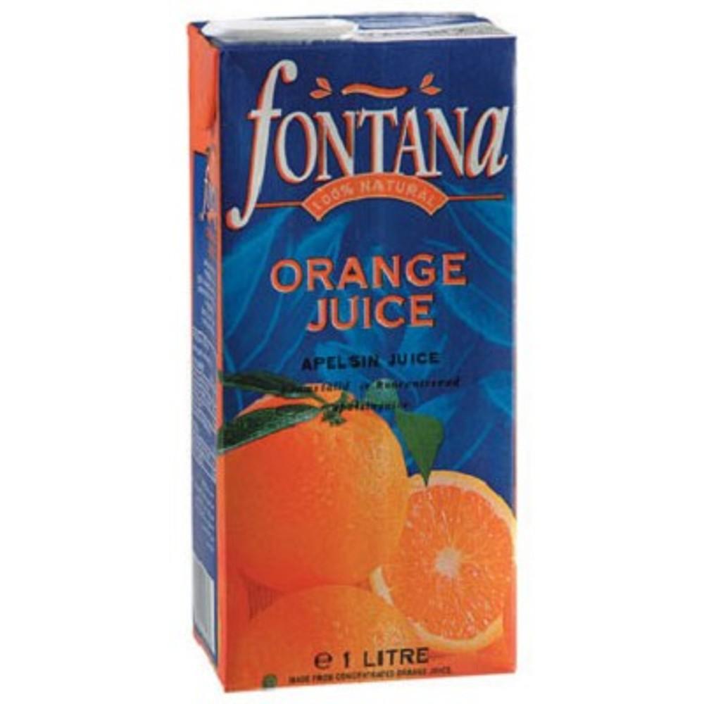 Fontana 100%柳橙汁(1000mlx12入)