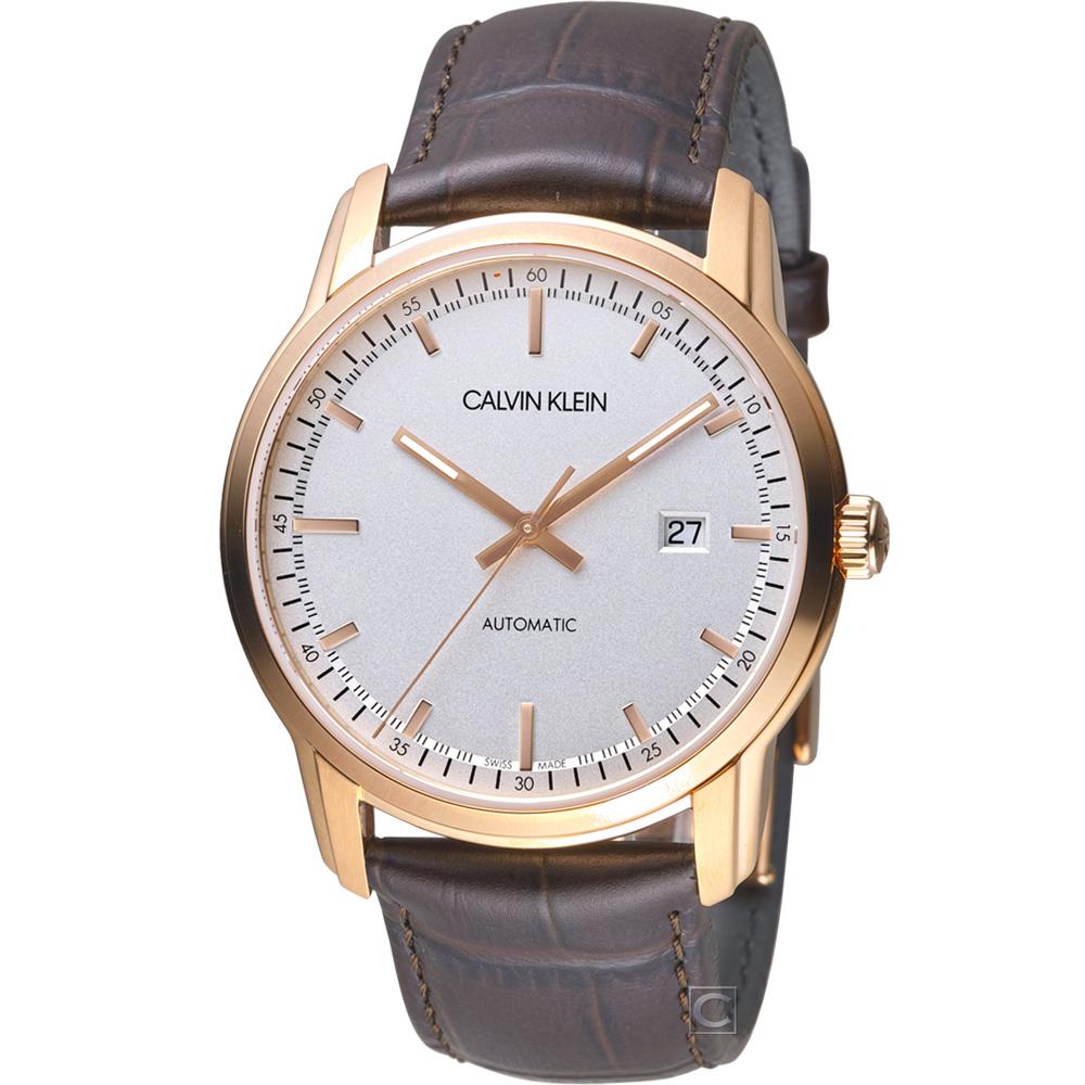 Calvin Klein Infinite  無限紳士機械錶(K5S346G6)42mm