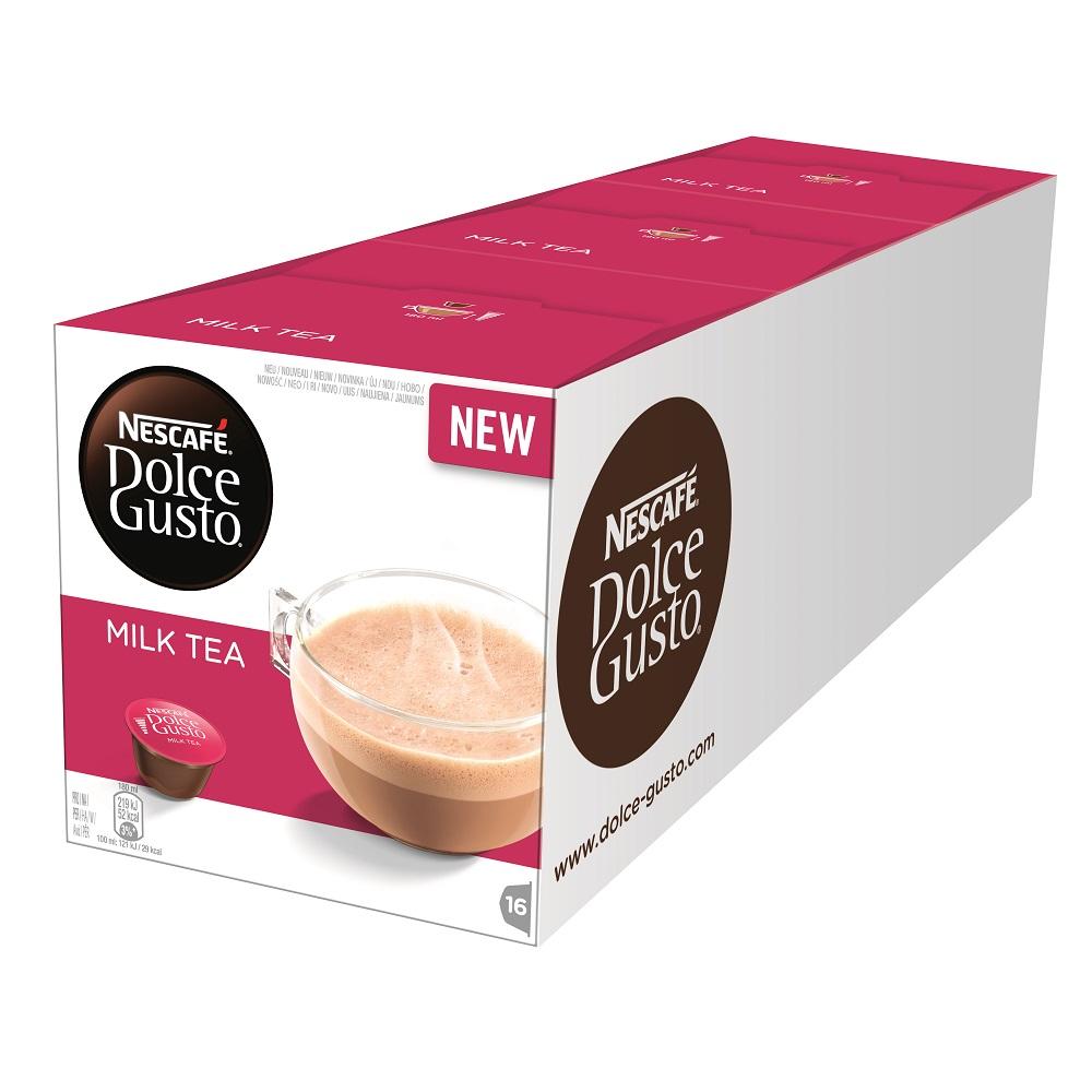 雀巢咖啡 DOLCE GUSTO 醇香奶茶膠囊16顆入3x184g