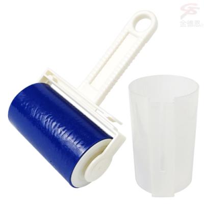 金德恩 台灣製造 2入水洗重複使用款毛髮灰塵清潔滾輪附保護收納殼
