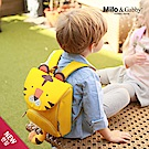 Milo & Gabby 動物好朋友-超吸睛輕量型小童書包/防走失包(TOM小虎)