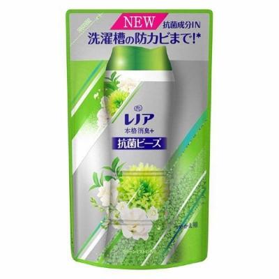 日本【P&G】本格消臭 Lenoir除臭劑房乾燥 消臭綠 新鮮白羅蘭香香豆 補充包