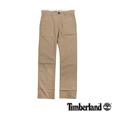 Timberland 男款卡其色Sargent Lake斜紋布休閒褲