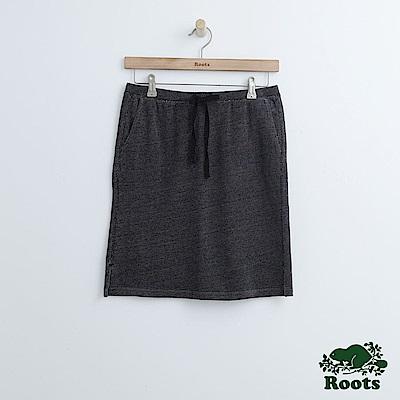 Roots -女裝- 瑪貝爾湖畔短裙 - 黑