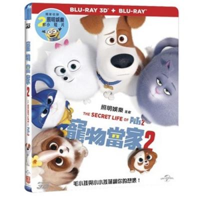 寵物當家2  3D+2D 雙碟限定版  藍光 BD