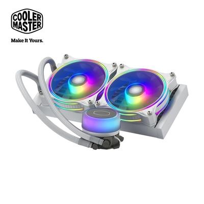 Cooler Master MasterLiquid ML240 illusion ARGB 水冷散熱器 白色