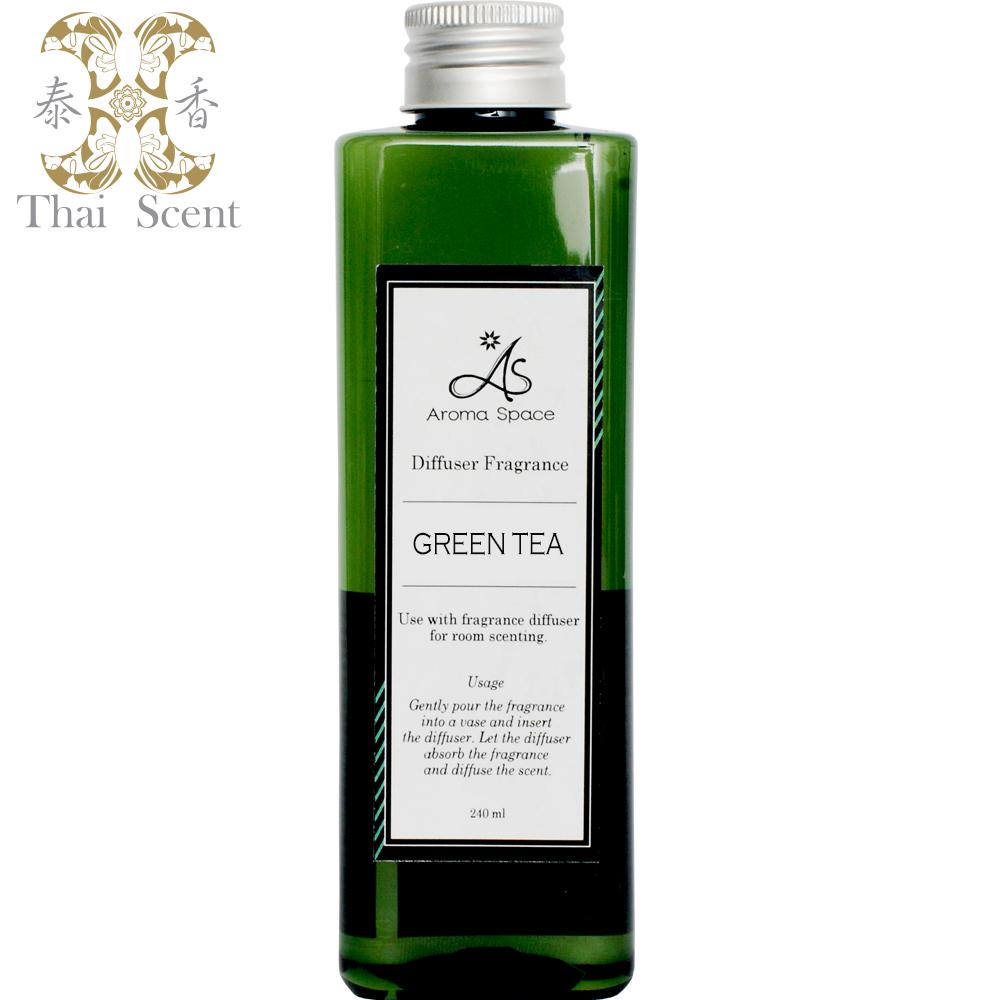 ThaiScent泰香 綠茶擴香精補充瓶240ml(送造型擴香竹)
