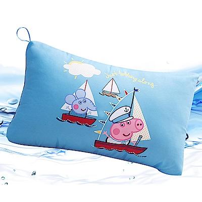 Saint Rose  卡通正版授權 天絲可水洗枕一入-佩佩豬海洋喬治
