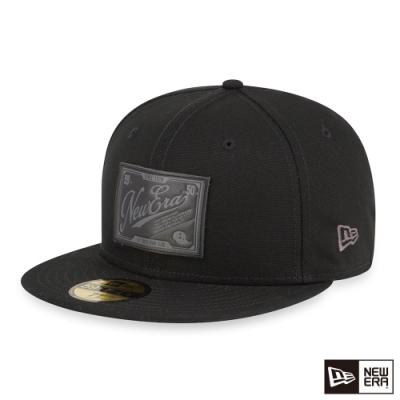 NEW ERA 59FIFTY 5950 粗帆布 黑 棒球帽