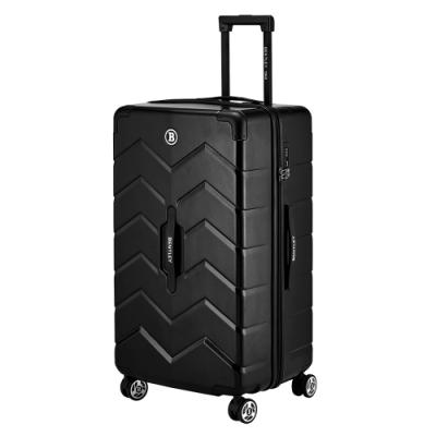 BENTLEY 28吋 PC+ABS 商務鋁合金拉桿輕量行李箱 -黑色