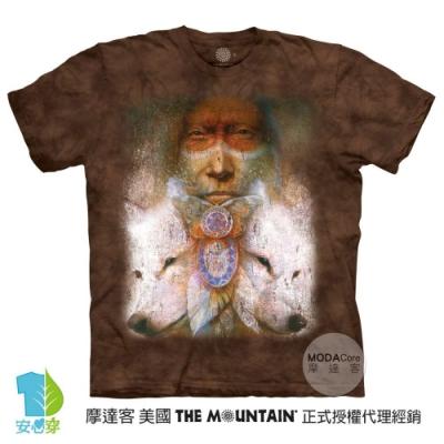 摩達客-美國進口The Mountain 神聖轉變 純棉環保藝術中性短袖T恤