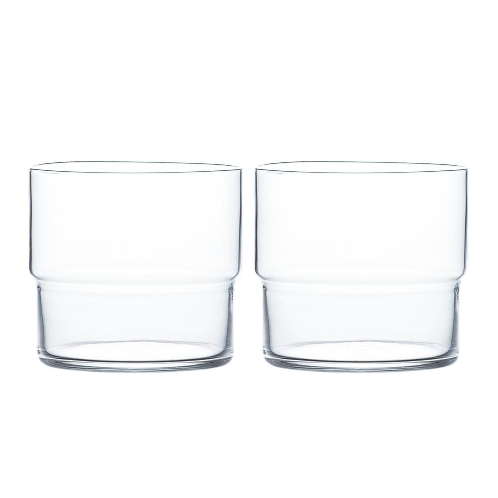 日本TOYO-SASAKI Fino薄口玻璃水杯 315ml-2入組