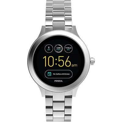 Fossil Q Venture系列觸控智能手錶-銀/42mm