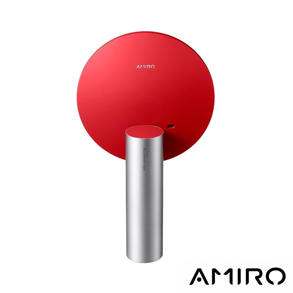AMIRO O 系列 VINTAGE 限定高清日光 LED 化妝鏡復古版 - 絲絨紅(AML009A)