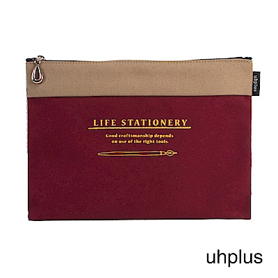 uhplus Life Stationery/ink 職人萬用收納袋(紅)