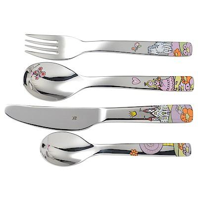WMF 小公主不鏽鋼兒童餐具 4件組