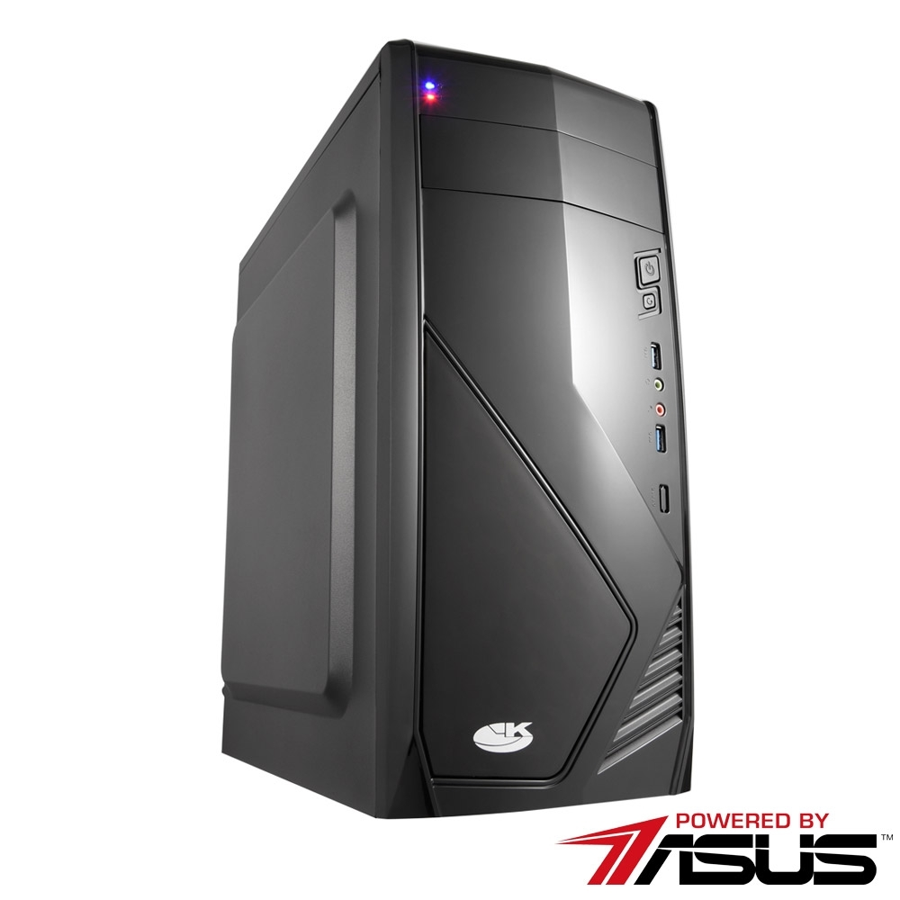 華碩H410平台[夜行戰機]i3-10100F/8G/GT710/120G_SSD
