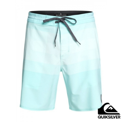 【QUIKSILVER】VISTA BEACHSHORT 19吋衝浪休閒褲 淺藍