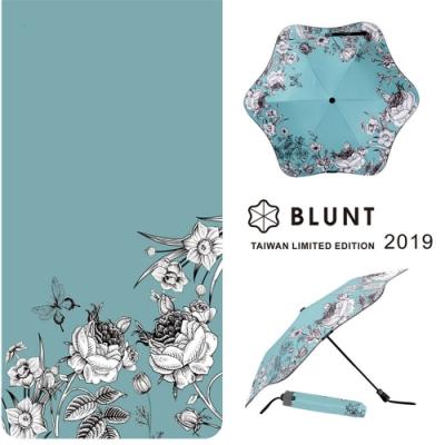 【BLUNT】2019 台灣區限量版 圖騰  完全抗UV折傘 復古花卉