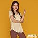 韓國 STL Yoga MODAL 3分袖 莫代爾 運動機能 輕透快乾 微合身低圓領短袖上衣 檸檬黃MellowYellow product thumbnail 1