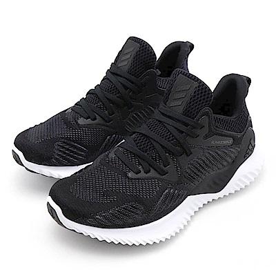 ADIDAS-ALPHABOUNCE女慢跑鞋-黑色